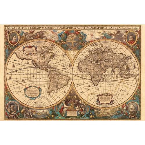 Puzzle Harta Antica A Lumii, 5000 Piese