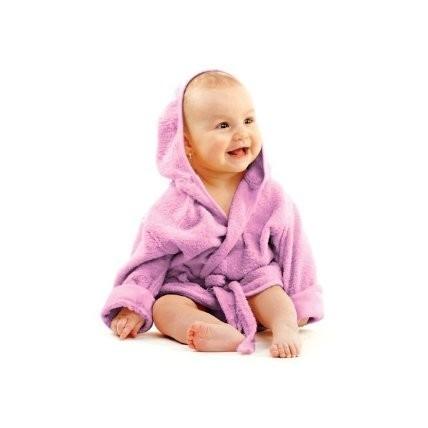 Halat de baie 6-12 luni Lila