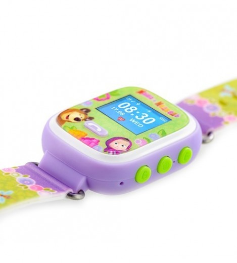 Imagine 4Ceas Cu GPS Pentru Copii Masha And The Bear