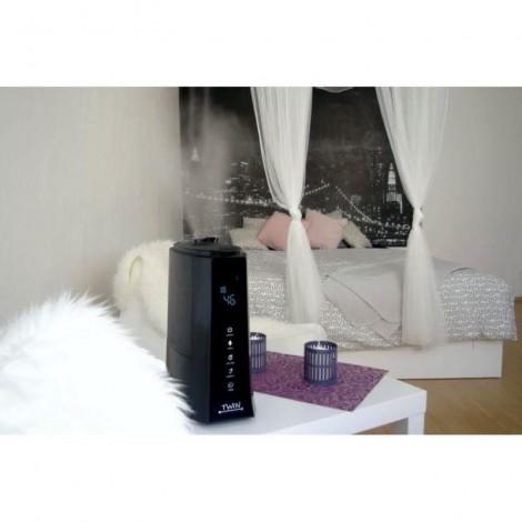 Imagine 14Umidificator cu ionizare si difuzor arome TWIN negru