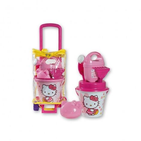 Imagine 1Troler cu jucarii de nisip Hello Kitty