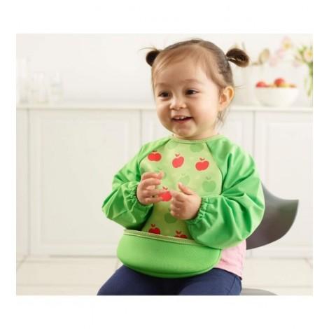 Imagine 3Baveta Cu Maneci Ultrabib Green Apples