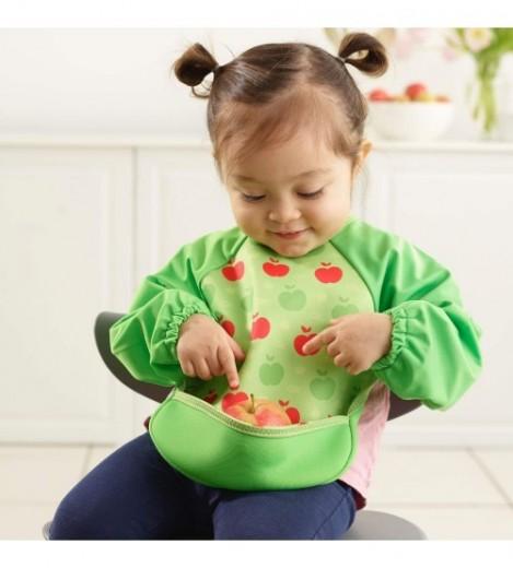 Imagine 5Baveta Cu Maneci Ultrabib Green Apples