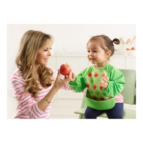 Imagine 6Baveta Cu Maneci Ultrabib Green Apples