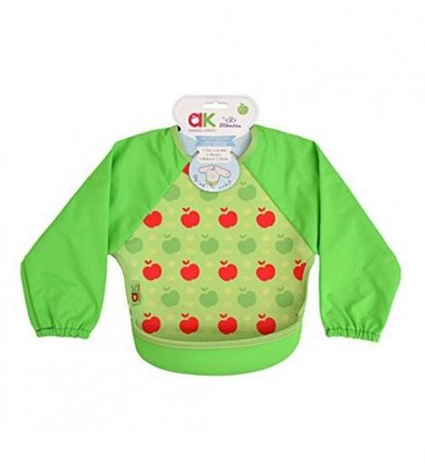 Imagine 1Baveta Cu Maneci Ultrabib Green Apples