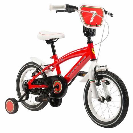 Bicicleta Kidteam Ferrari 16