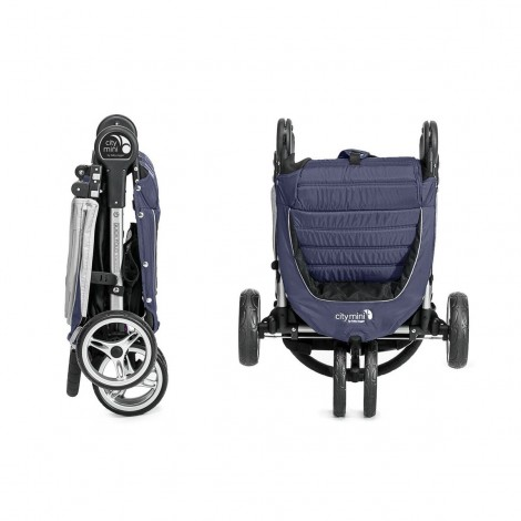 Imagine 6Carucior City Mini 3 Navy Blue Grey