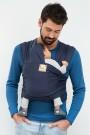 Imagine 1Sistem de purtare wrap elastic Tricot Slen Organic Blue Jeans