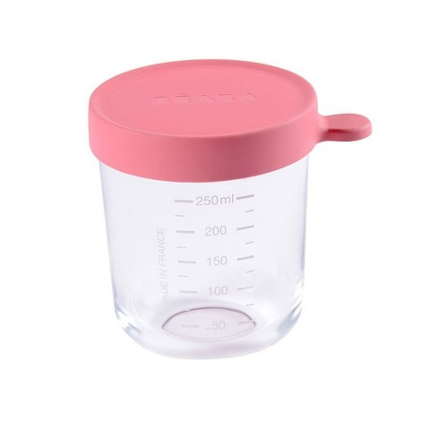 Imagine 1Recipient ermetic sticla 250 ml Roz