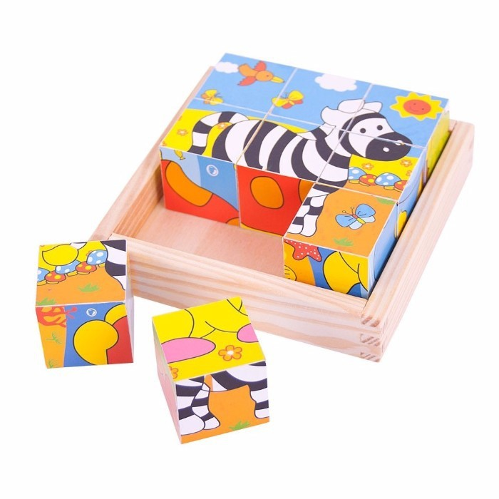 Puzzle 3d Si Cuburi
