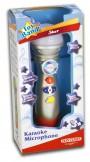 Imagine 2Microfon Karaoke cu lumini