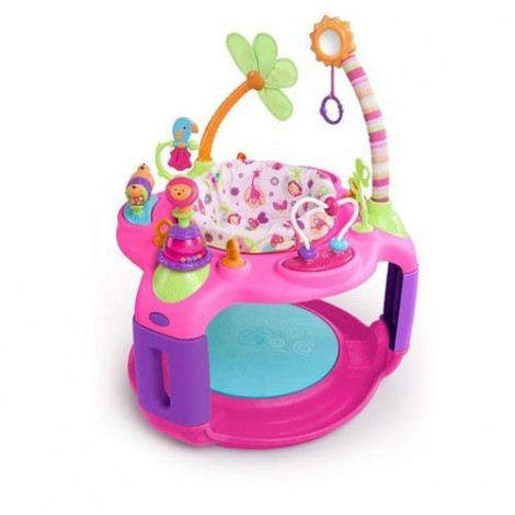 Imagine 1Centru De Activitati Sweet Safari Bounce-A-Round