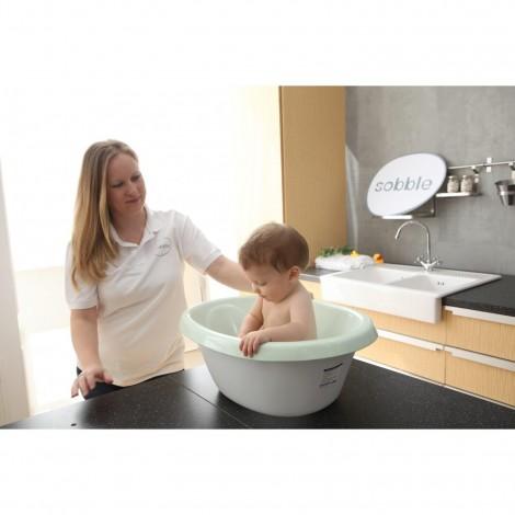 Imagine 3Cadita pentru baie, Verde, Sobble