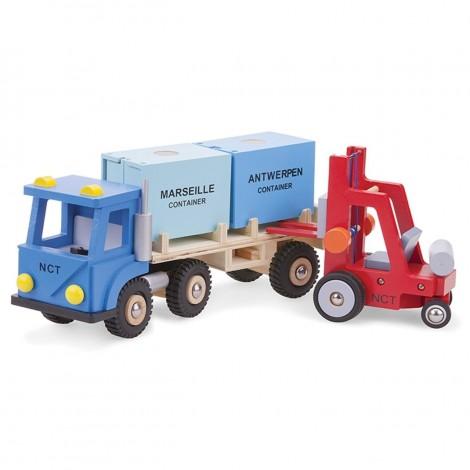 Imagine 2Camion cu 2 Containere