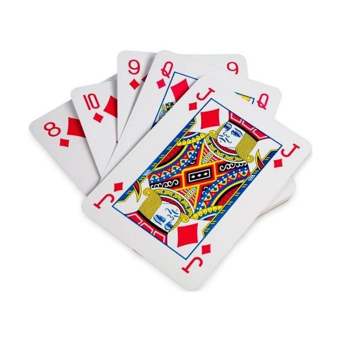 Carti de joc gigant
