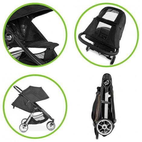Imagine 3Carucior Baby Jogger City Mini 2 Sepia