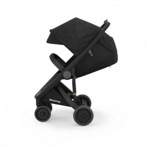 Imagine 3Carucior Greentom Classic Upp 100% Ecologic Black Black