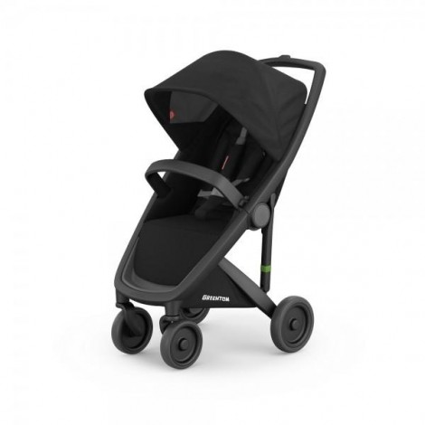 Imagine 1Carucior Greentom Classic Upp 100% Ecologic Black Black