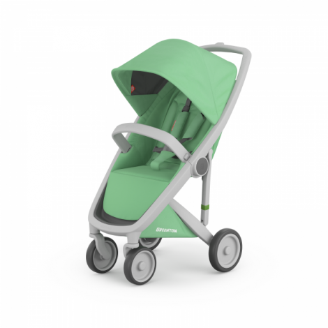 Imagine 1Carucior Greentom Classic Upp 100% Ecologic Grey Mint
