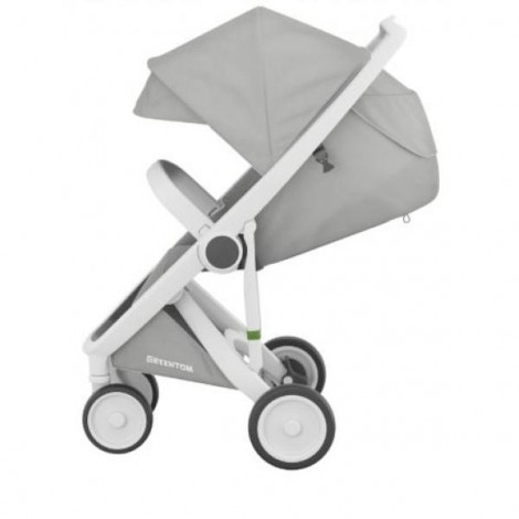 Imagine 2Carucior Greentom Classic Upp 100% Ecologic White Grey