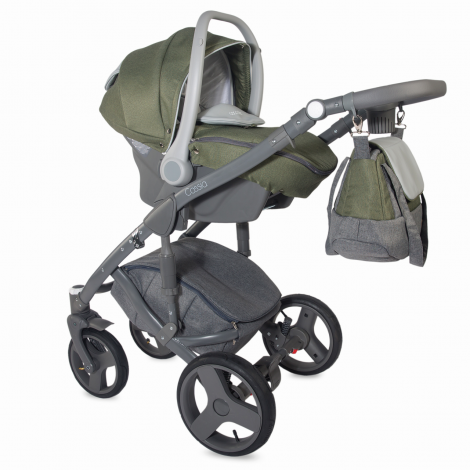 Imagine 11Carucior modular 3 in 1 Cassia Khaki