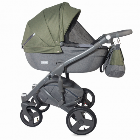 Imagine 4Carucior modular 3 in 1 Cassia Khaki