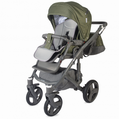 Imagine 7Carucior modular 3 in 1 Cassia Khaki