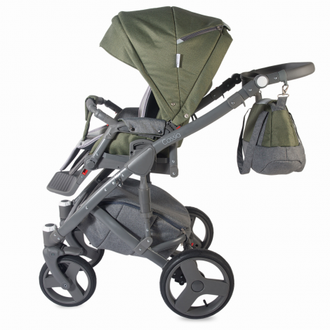 Imagine 8Carucior modular 3 in 1 Cassia Khaki