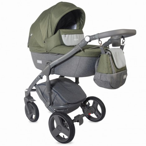 Imagine 1Carucior modular 3 in 1 Cassia Khaki