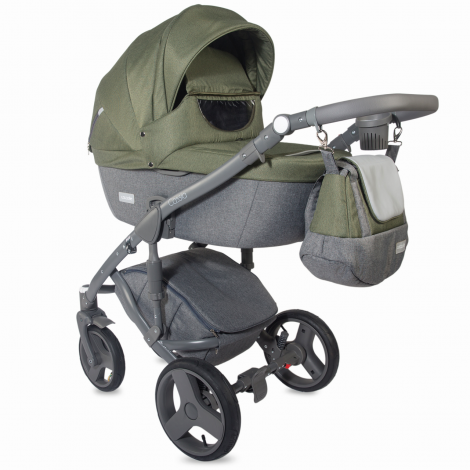 Imagine 2Carucior modular 3 in 1 Cassia Khaki
