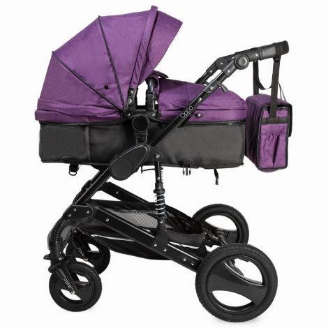 Imagine 7Carucior transformabil 3 in 1 Oppa Violet