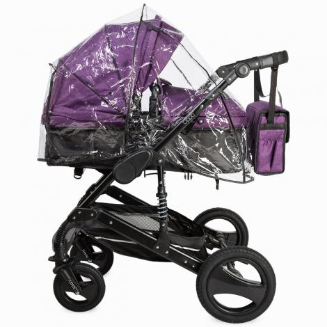 Imagine 8Carucior transformabil 3 in 1 Oppa Violet
