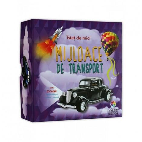 Imagine 1Cutie istet de mic! Vol.5 Mijloace de transport ro-englez 5 carti