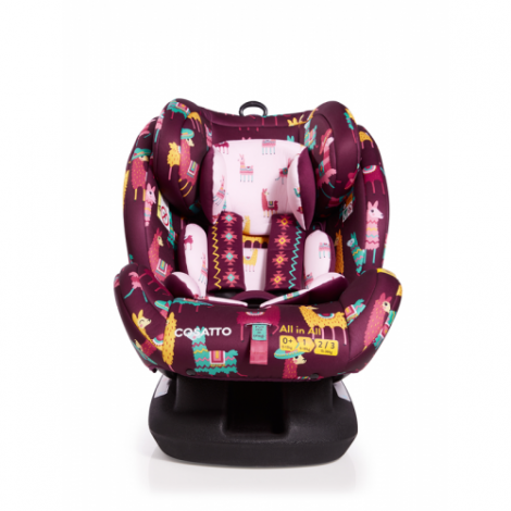 Imagine 4Scaun Auto Cu Isofix All In All GR 0,1,2,3, Llamarama