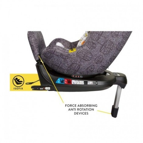 Imagine 8Scaun Auto Cu Isofix 0-18 Kg Come And Go, Dawn Chorus