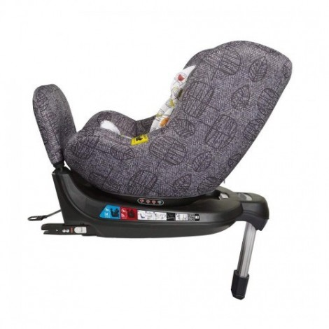 Imagine 6Scaun Auto Cu Isofix 0-18 Kg Come And Go, Dawn Chorus