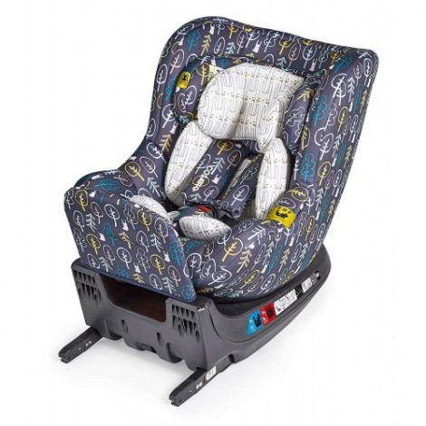 Imagine 2Scaun Auto Cu Isofix 0-18 Kg Come And Go, Hop To It