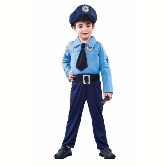 Costum Police Boy 2-4 ani