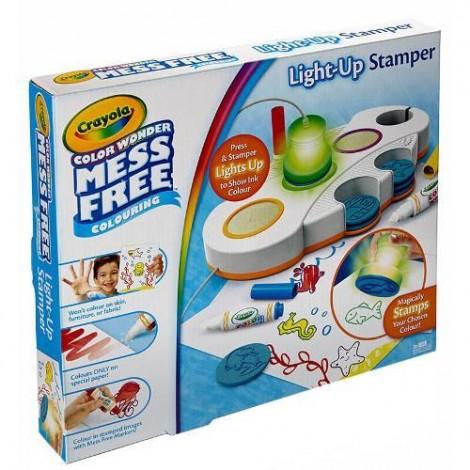 Imagine 1Set Stampile cu Lumini Color Wonder Light Up Stamper