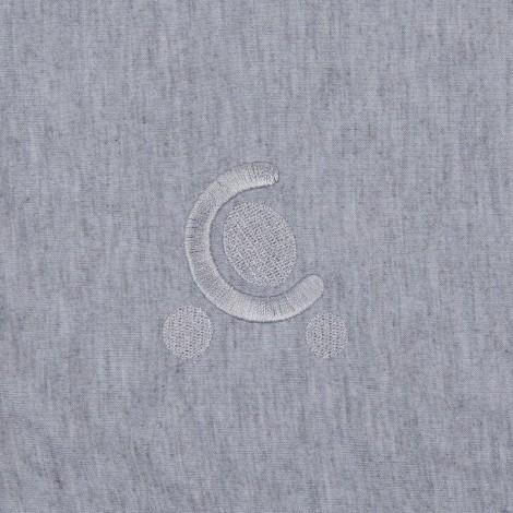 Imagine 7Paturica reversibila din tricot/fleece 90x70 cm Comfi Love Grey