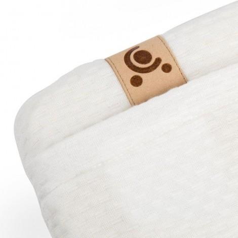 Imagine 4Perna pentru dormit din spuma cu memorie cu husa din bambus
