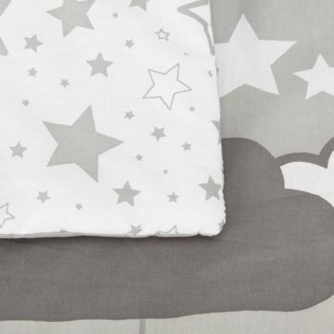 Imagine 4Set de pat 4 piese pentru bebelusi Comfi-Dreams Sleepy Sheep