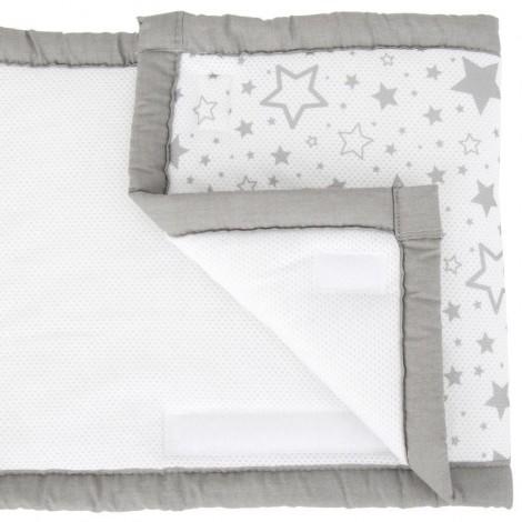 Imagine 5Set de pat 4 piese pentru bebelusi Comfi-Dreams Sleepy Sheep
