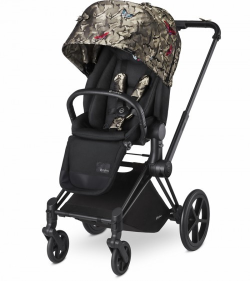 Carucior Sistem Priam Carrycot Butterfly
