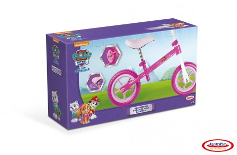 Imagine 3Bicicleta de echilibru Paw Patrol Pink