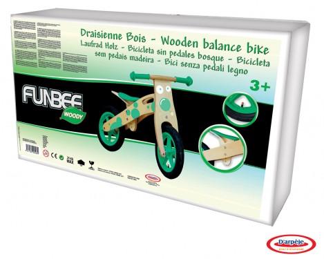 Imagine 2Bicicleta din lemn fara pedale Funbee