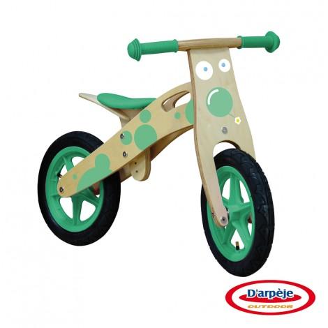 Imagine 1Bicicleta din lemn fara pedale Funbee
