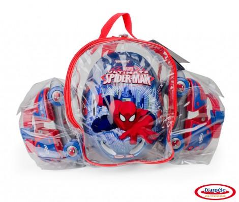 Imagine 2Set Patine cu rotile Spiderman
