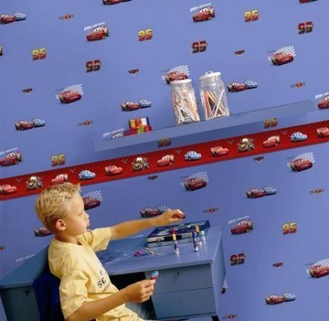 Imagine 2Bordura autoadeziva perete 5m Cars
