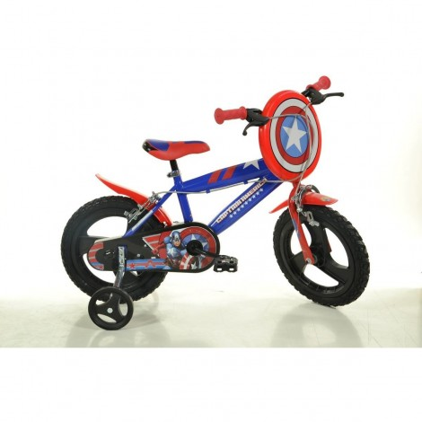 Imagine 1Bicicleta Captain America 14""